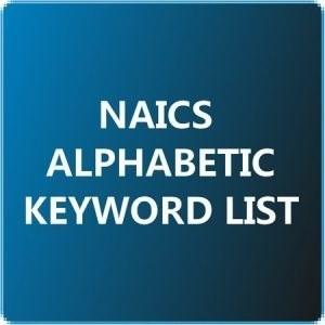 1NAICS Alphabetic Keyword List