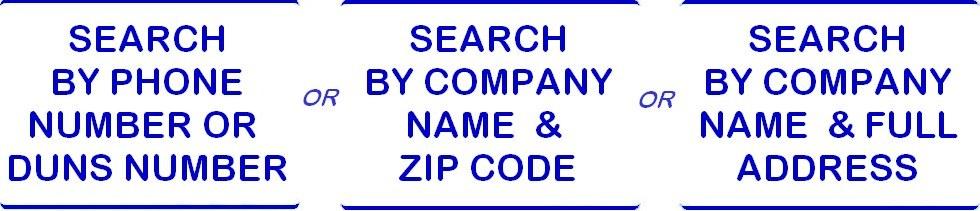 company lookup tool