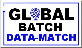 GLOBAL BATCH DATA MATCH LOGO