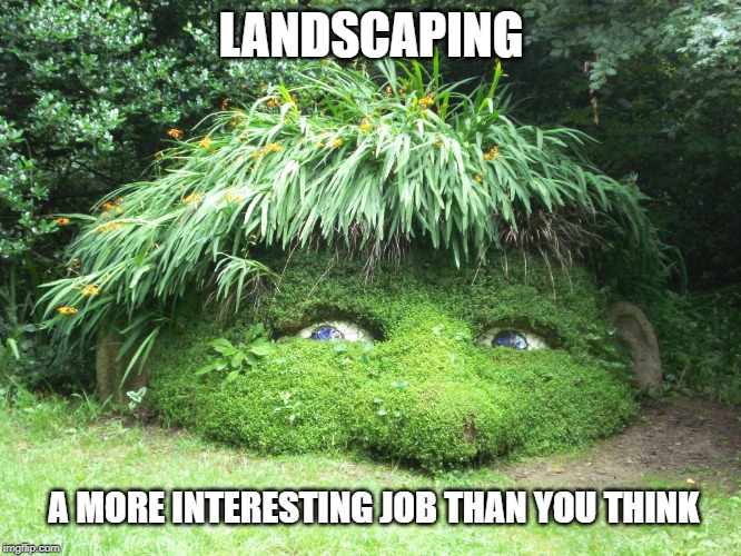 landscaping as a job